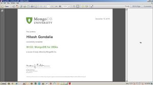 MongoDB_Cert