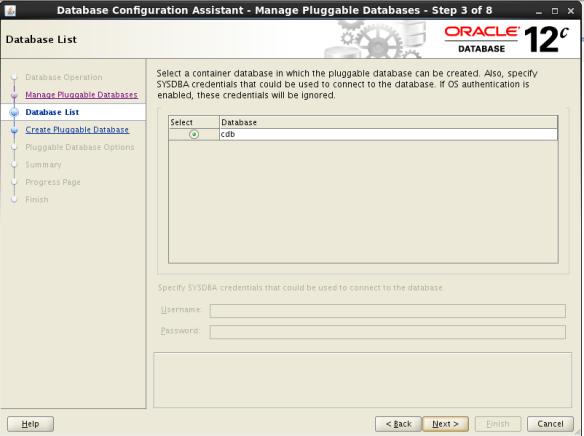 Create PDB Using DBCA