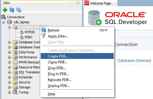 SQL_DEV_PDB